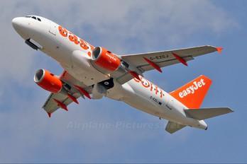 G-EZGJ - easyJet Airbus A319