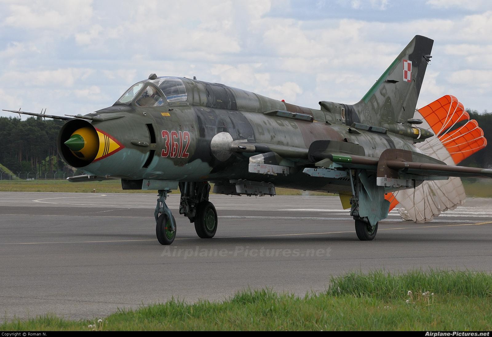 Poland - Air Force 3612 aircraft at Bydgoszcz - Szwederowo