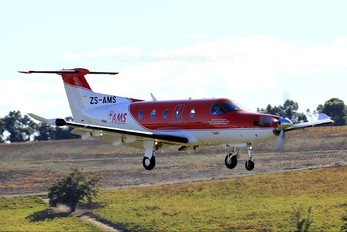 ZS-AMS - Red Cross Air Mercy Service Pilatus PC-12