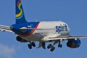 N504NK - Spirit Airlines Airbus A319 aircraft