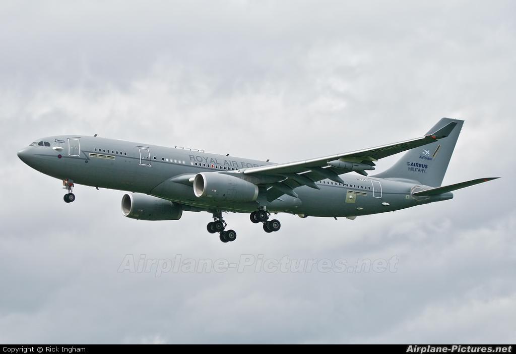 Airbus Military EC-335 aircraft at Boscombe Down