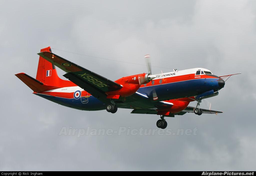 Royal Air Force: Empire Test Pilots School XS606 aircraft at Boscombe Down