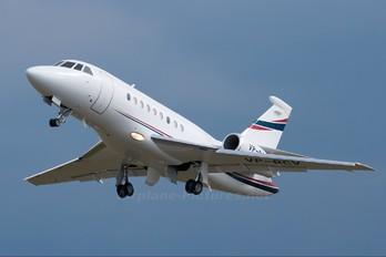 VP-BCV - Private Dassault Falcon 2000 DX, EX