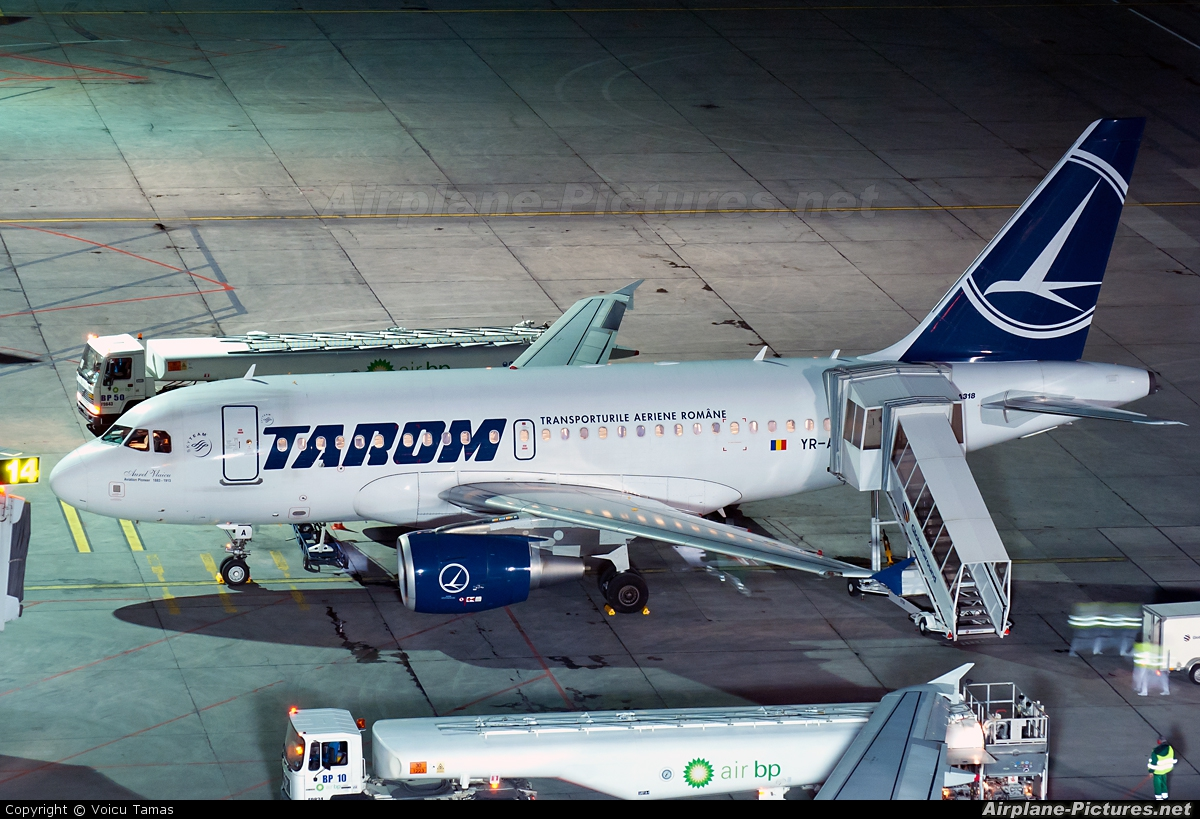 Tarom YR-ASA aircraft at Bucharest - Henri Coandă