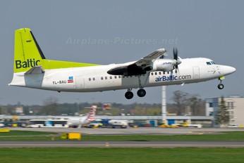 YL-BAU - Air Baltic Fokker 50