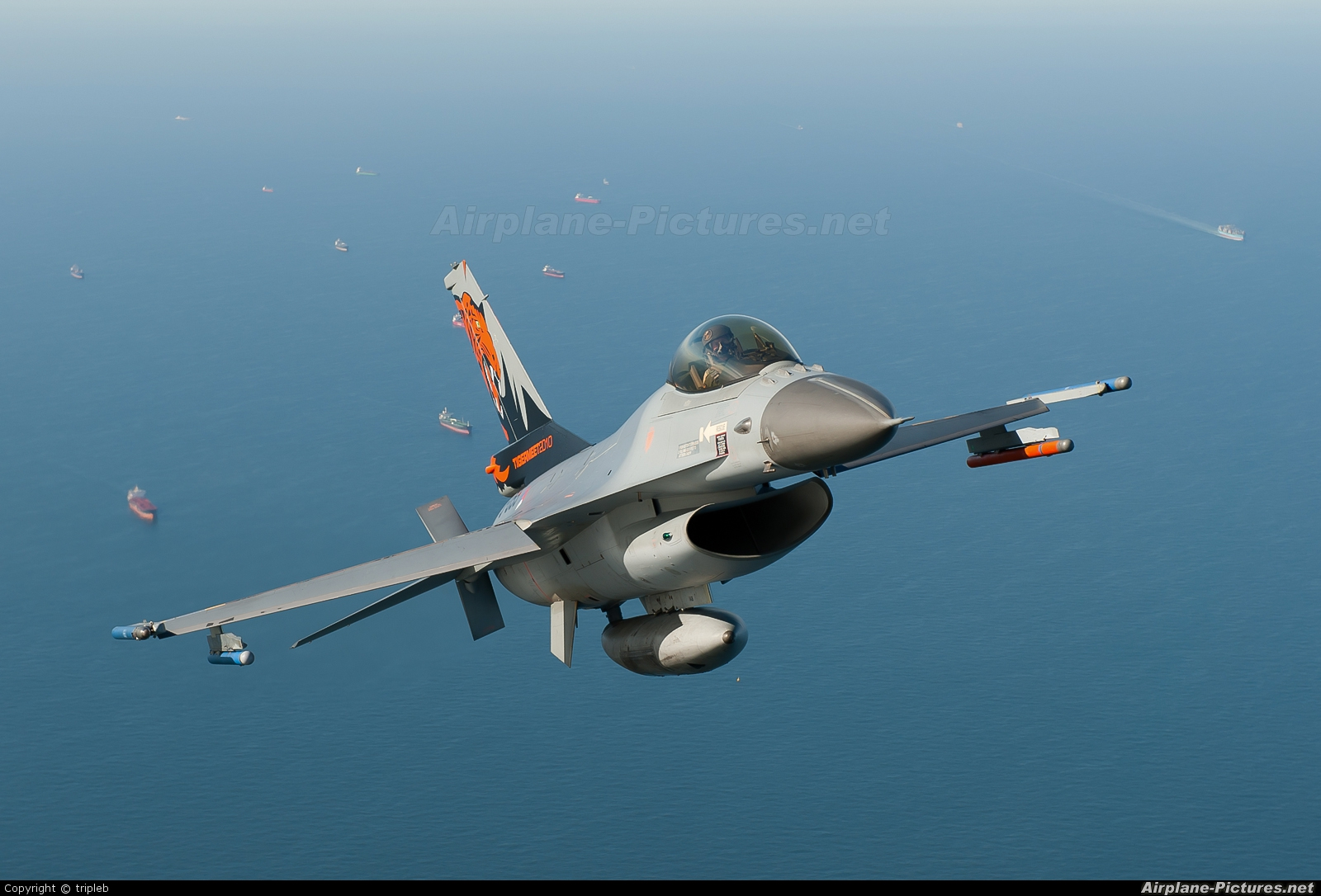 Netherlands - Air Force J-055 aircraft at In Flight - Netherlands
