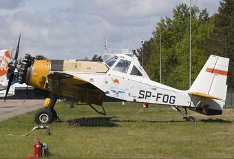 SP-FOG - Aerogryf PZL M-18 Dromader