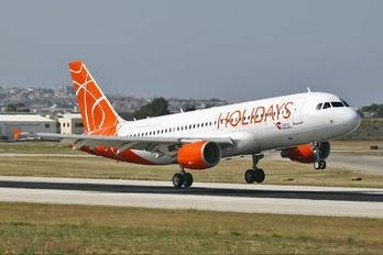 OK-HCB - CSA - Holidays Czech Airlines Airbus A320