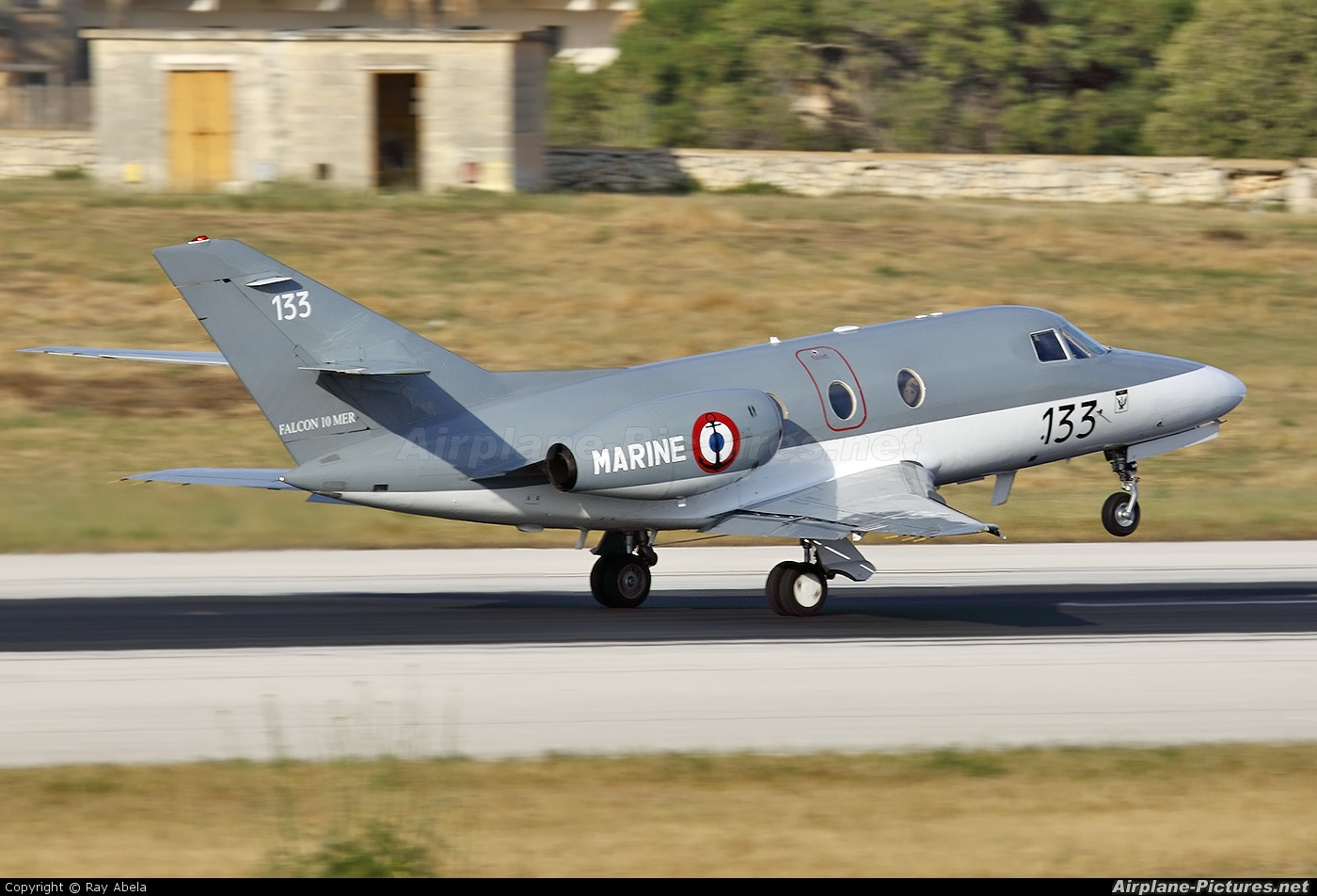 France - Navy 133 aircraft at Malta Intl