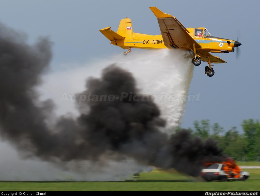 Agroair OK-NRM aircraft at Hradec Králové