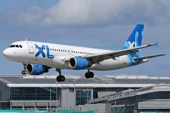 F-GTHL - XL Airways France Airbus A320