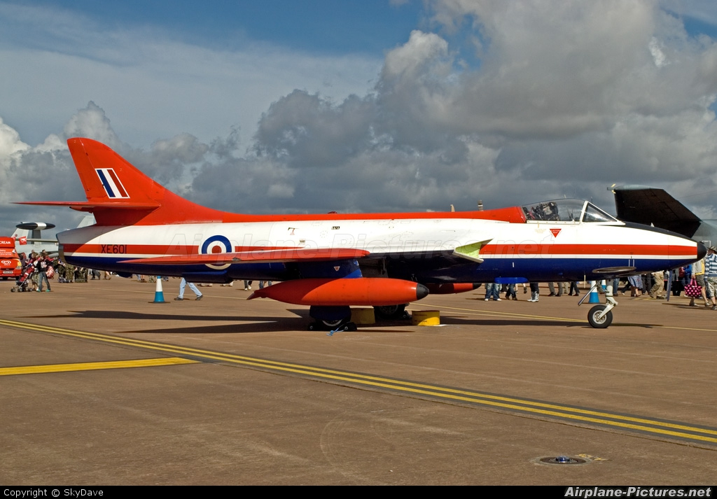 Royal Air Force: Empire Test Pilots School XE601 aircraft at Fairford