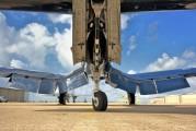 N43RW - Texas Aviation Hall of fame Vought F4U Corsair aircraft