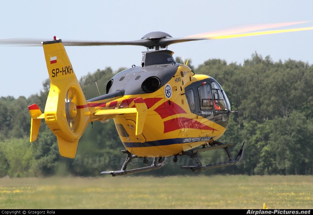 Polish Medical Air Rescue - Lotnicze Pogotowie Ratunkowe SP-HXH aircraft at Warsaw - Babice
