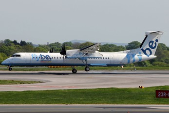 G-JECJ - Flybe de Havilland Canada DHC-8-400Q / Bombardier Q400