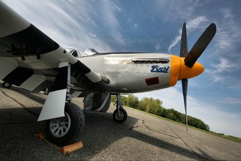 NX508F - Private North American P-51B Mustang