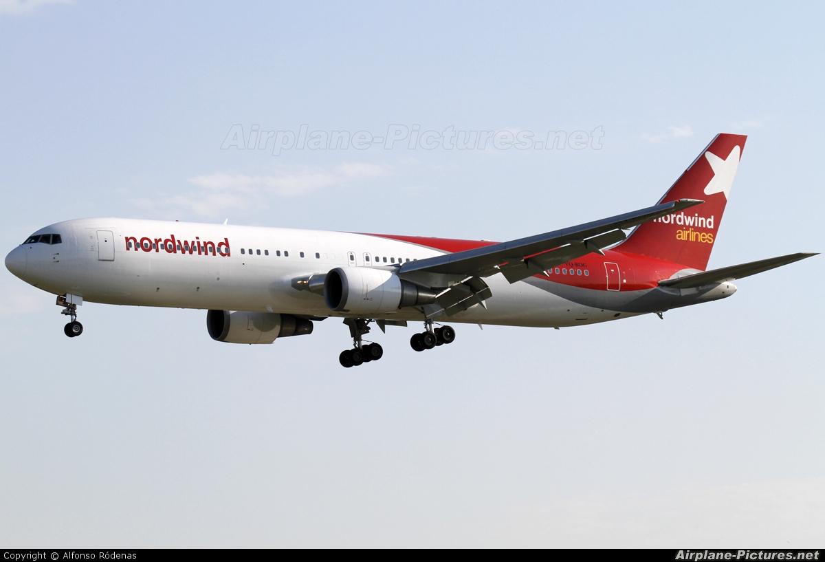 Nordwind Airlines VQ-BOG aircraft at Barcelona - El Prat