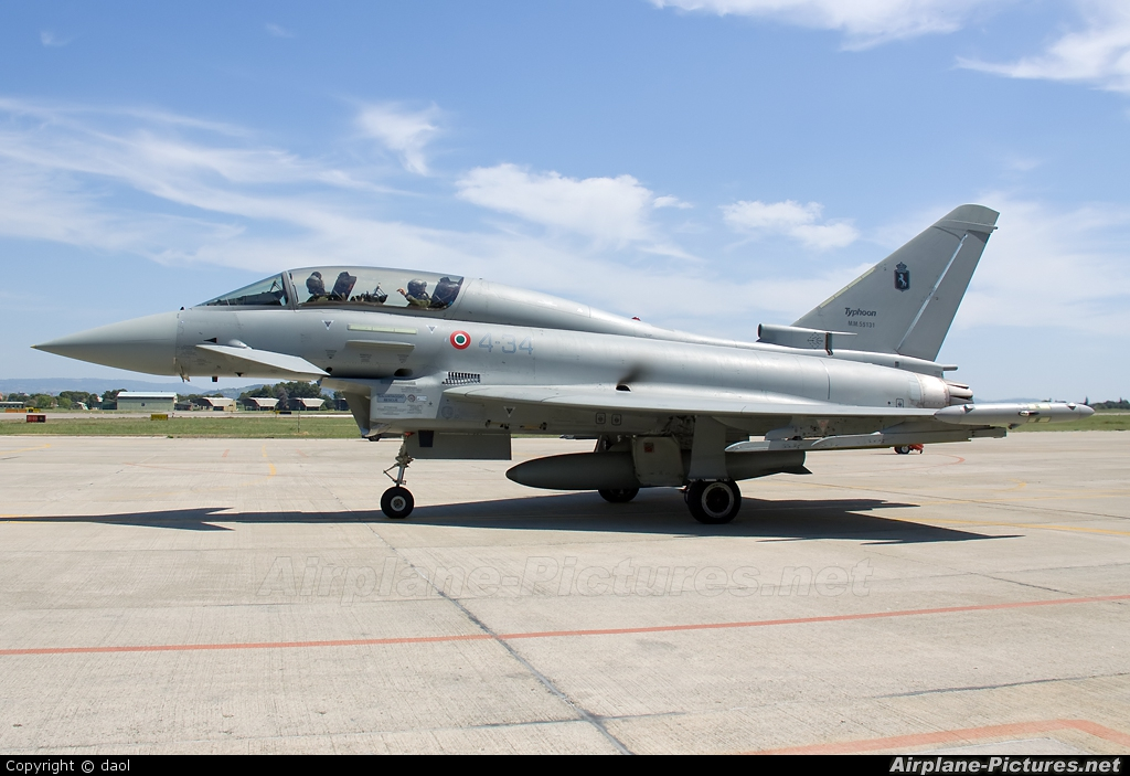 Italy - Air Force MM55031 aircraft at Grosseto - Corrado Baccarini
