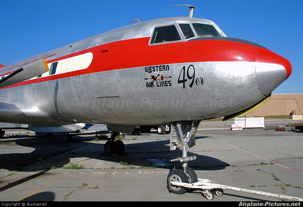 Western Airlines N240HH aircraft at Chino