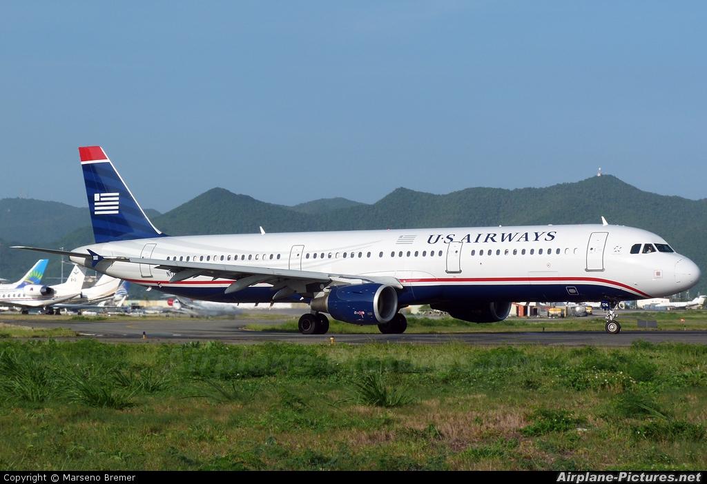 US Airways N176UW aircraft at Sint Maarten - Princess Juliana Intl