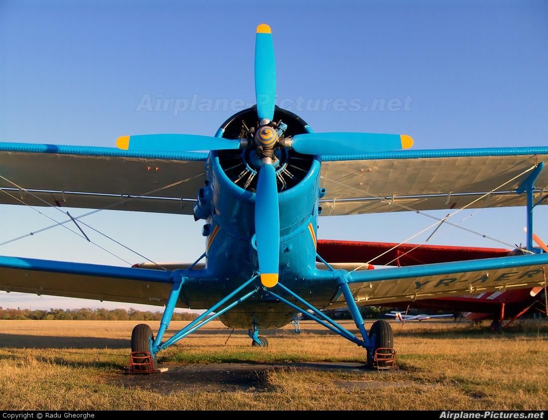 Private YR-AER aircraft at Iasi-South