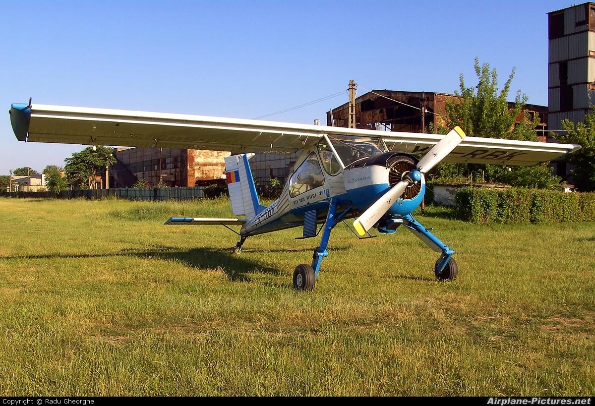 Private YR-RBK aircraft at Iasi-South