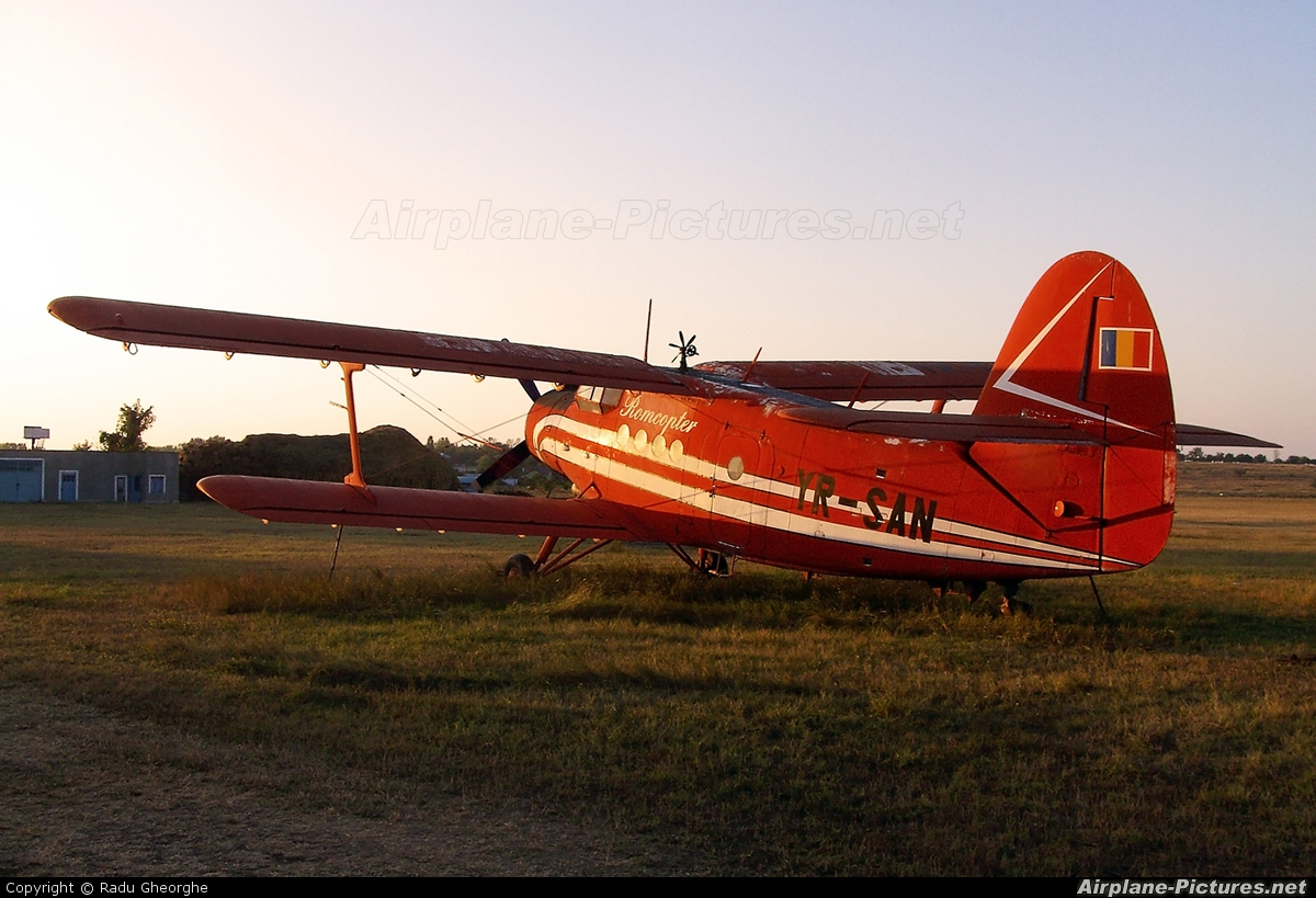 Private YR-SAN aircraft at Iasi-South