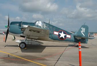 N4994V - Air Museum Chino Grumman F6F Hellcat