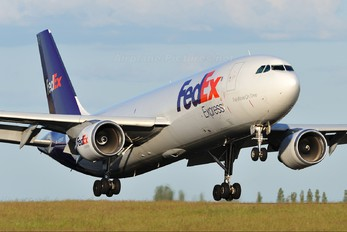 N724FD - FedEx Federal Express Airbus A300F