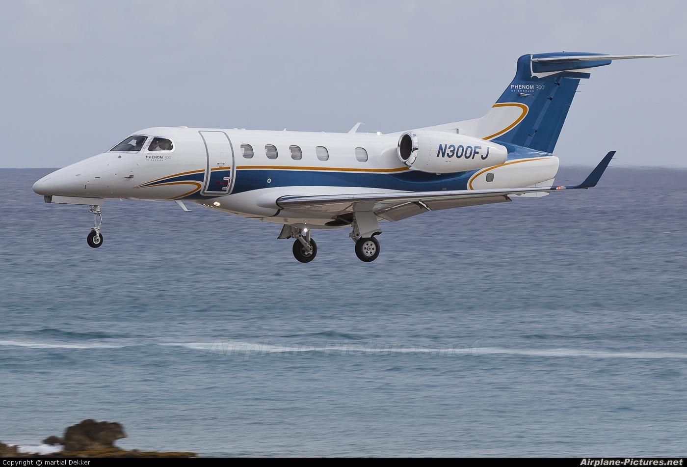 Private N300FJ aircraft at Sint Maarten - Princess Juliana Intl