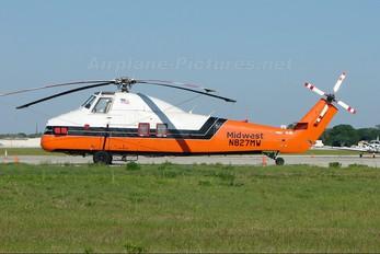 N827MW - Midwest Truxton International Sikorsky S-58T
