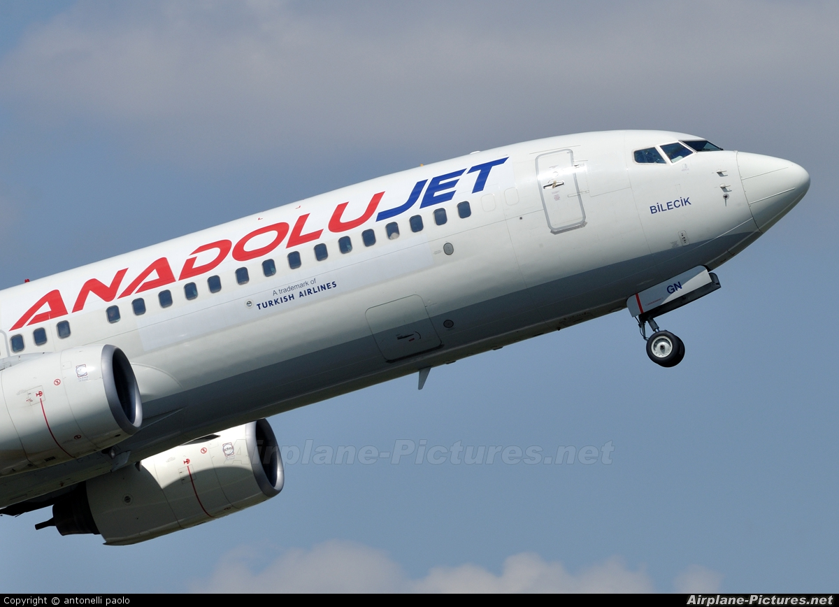 AnadoluJet TC-JGN aircraft at Brussels - Zaventem