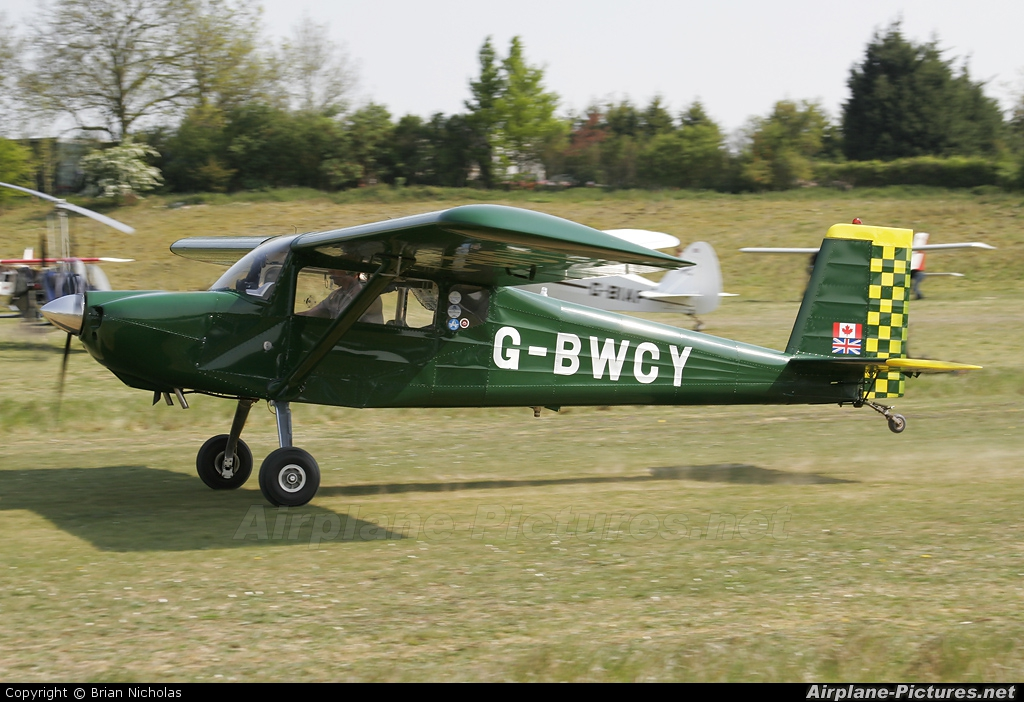 Private G-BWCY aircraft at Popham