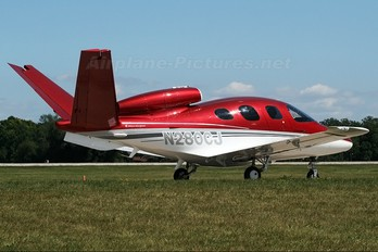 N280CJ - Private Cirrus Vision SF50