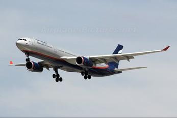 VQ-BEL - Aeroflot Airbus A330-300