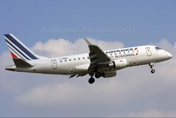 F-HBXG - Air France - Regional Embraer ERJ-170 (170-100)
