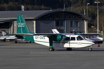 OY-CKS - Cowi Britten-Norman BN-2 Islander