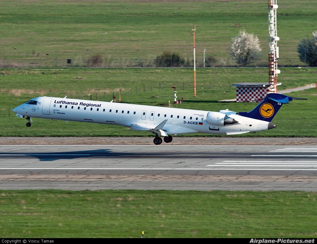 Lufthansa Regional - CityLine D-ACKB aircraft at Bucharest - Henri Coandă