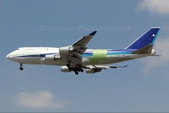 N596MS - GECAS Boeing 747-400