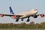 OY-KBI - SAS - Scandinavian Airlines Airbus A340-300 aircraft