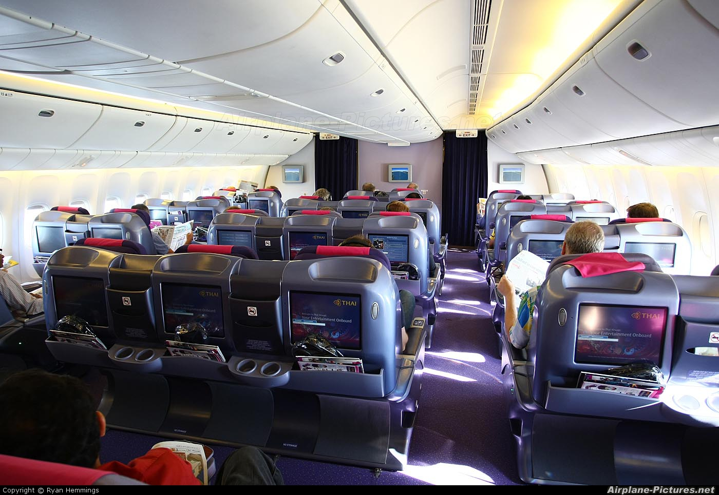 Thai Airways HS-TKD aircraft at In Flight - International