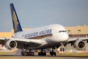 9V-SKD - Singapore Airlines Airbus A380 aircraft