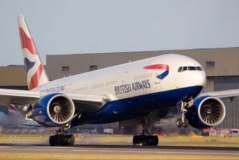 G-VIIC - British Airways Boeing 777-200