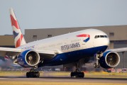 G-VIIC - British Airways Boeing 777-200 aircraft