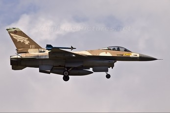 111 - Israel - Defence Force General Dynamics F-16A Netz