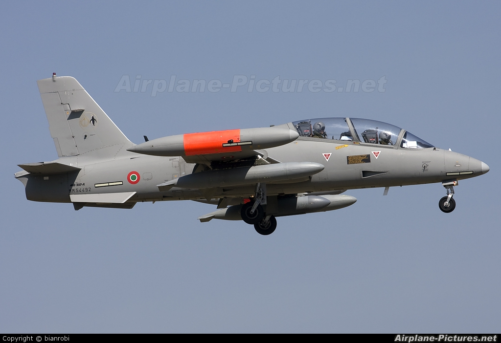 Italy - Air Force MM54492 aircraft at Verona - Villafranca