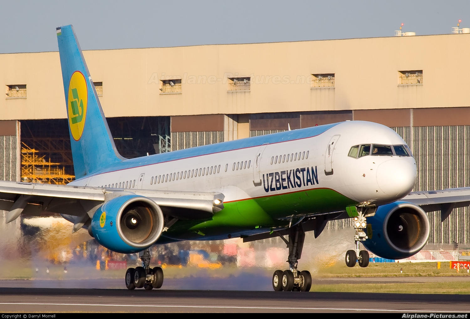 Uzbekistan Airways VP-BUI aircraft at London - Heathrow
