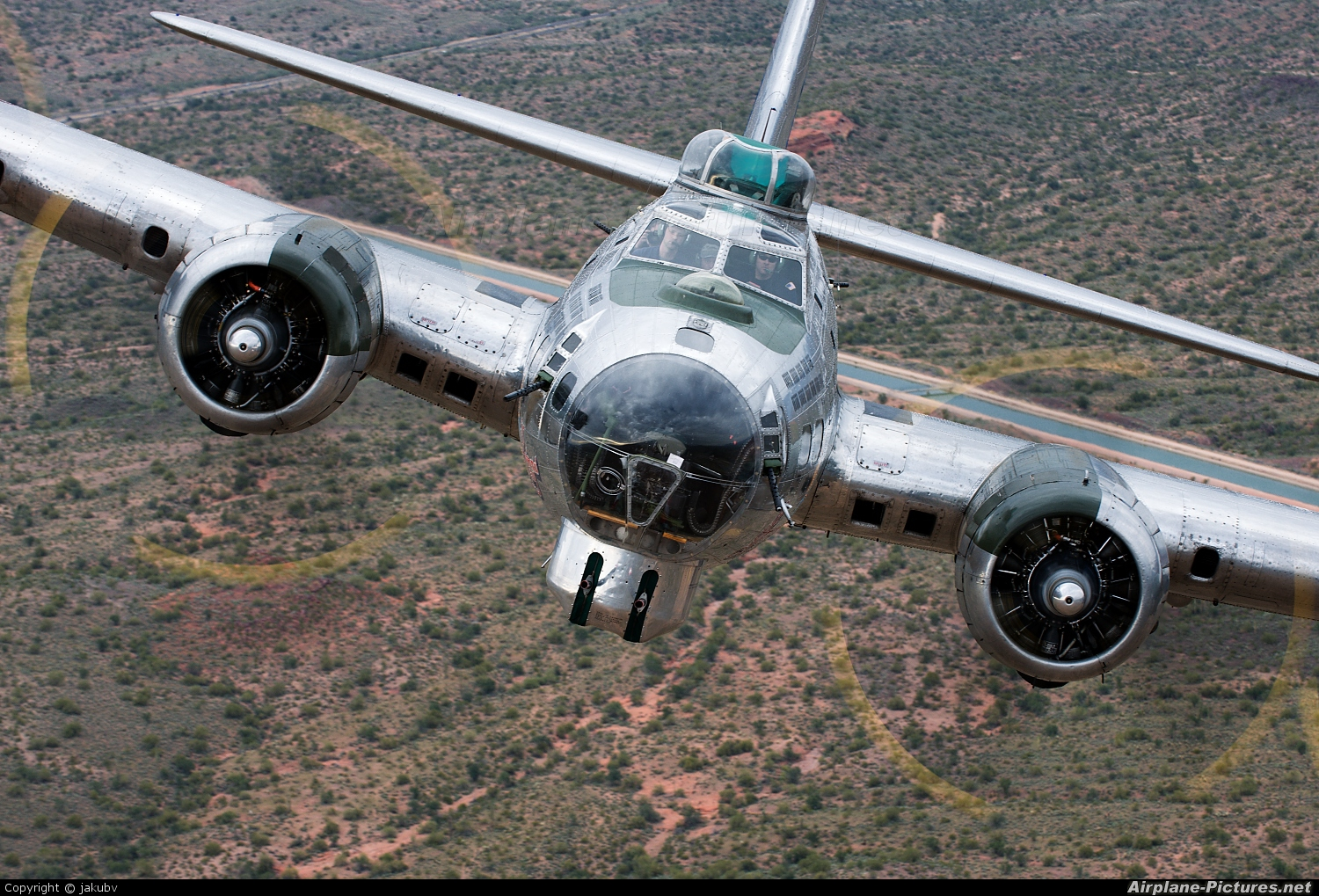 American Airpower Heritage Museum (CAF) N9323Z aircraft at In Flight - Arizona
