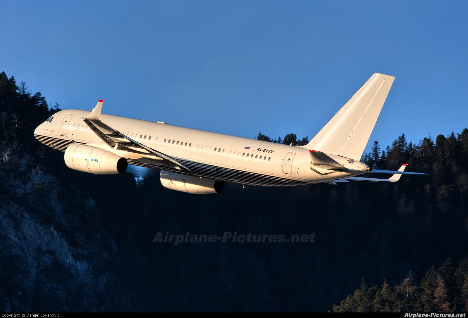 Business Aero RA-64010 aircraft at Innsbruck