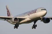 A7-AEB - Qatar Airways Airbus A330-300 aircraft